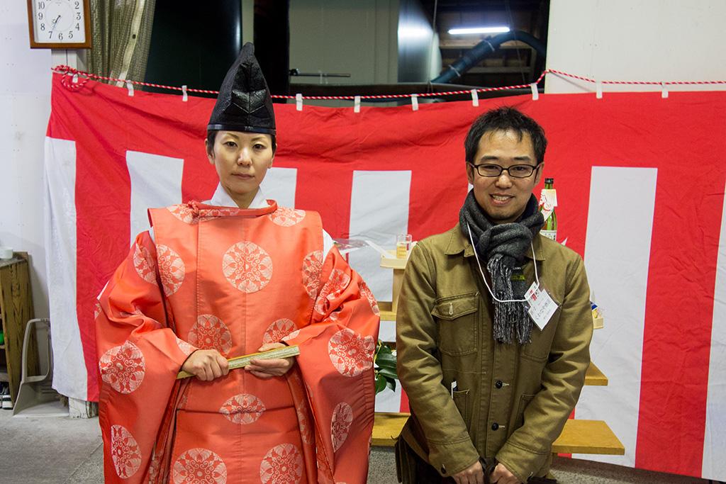 赤城神社宮司さん