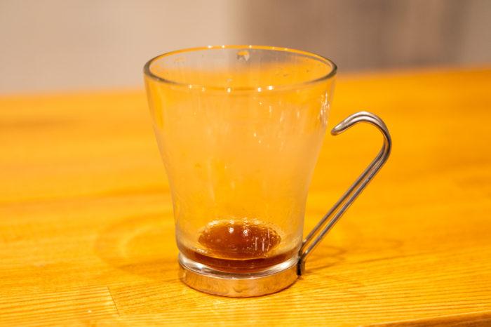 1杯分のシジみ汁