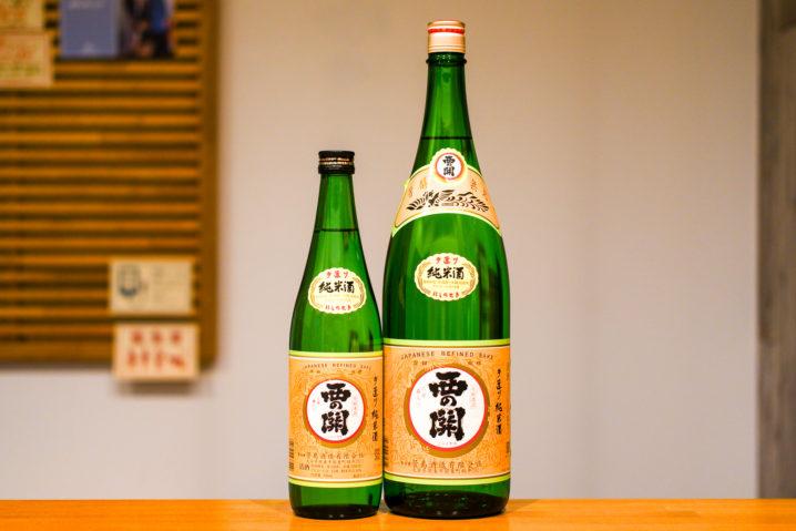 西の関手造り純米酒