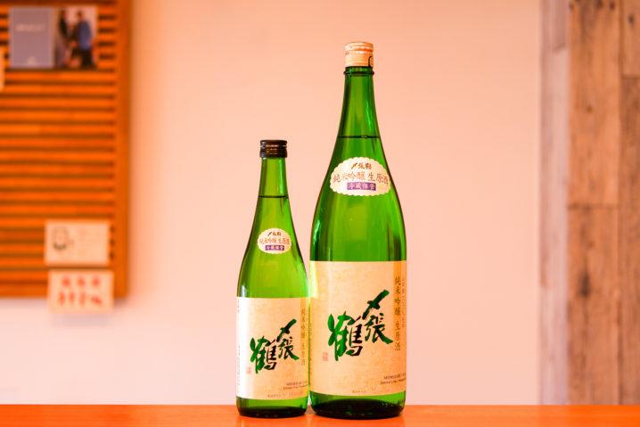〆張鶴純米吟醸生原酒